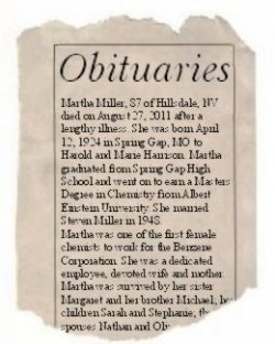 Obituary for a Poet Heretic